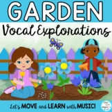Vocal Explorations: Garden Theme,  Game , Animated, Worksheets
