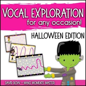 Vocal Explorations - Halloween Edition