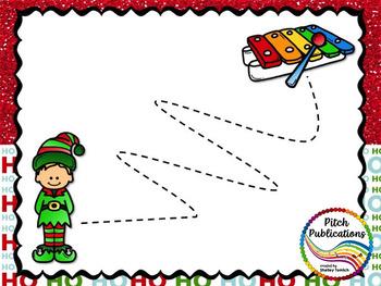 Christmas Vocal Explorations - Santa's Elves (Elf) Create + Compose Your Own
