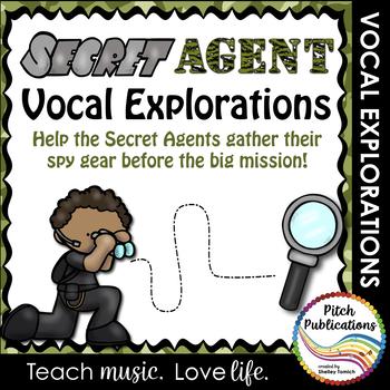 Vocal Explorations - Secret Agent - Create + Compose Your Own