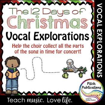 Vocal Explorations - The 12 Days of Christmas  - Create +