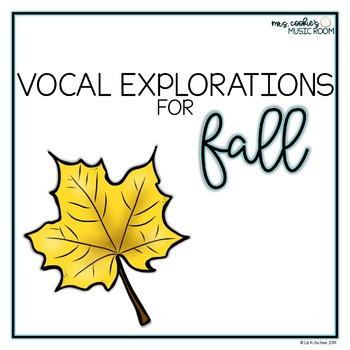 Vocal Explorations for Fall