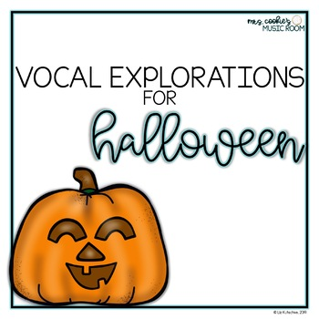 Vocal Explorations for Halloween