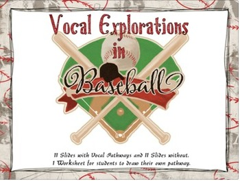 Vocal Explorations in Baseball