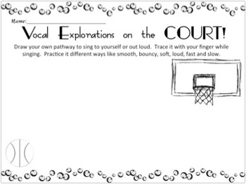 Vocal Explorations on the Court