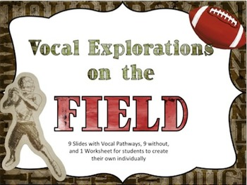 Vocal Explorations on the Field