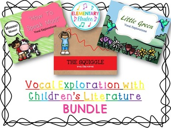 Vocal Explorations with Children's Literature BUNDLE