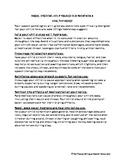 Vocal Hygiene Handout SPANISH/ENGLISH