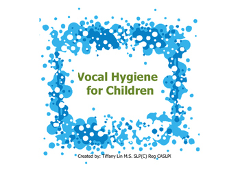Vocal Hygiene for Children-Voice Therapy