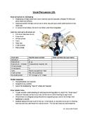 Vocal Percussion Basics