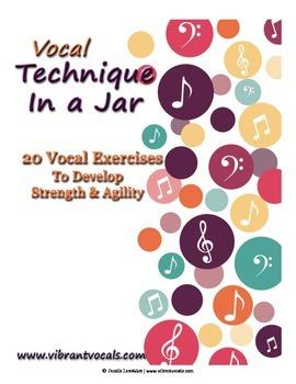 Vocal Technique in a Jar - Singing Exercises