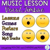 Music Lesson Four Voices: Games, Posters, Songs, Activities & Mp3's