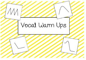 Vocal Warm Up Visuals