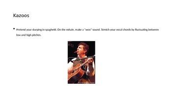 Vocal Warmups