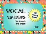 Vocal Warmups with Backing Tracks Set 1
