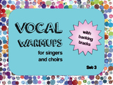 Vocal Warmups with Backing Tracks Set 3