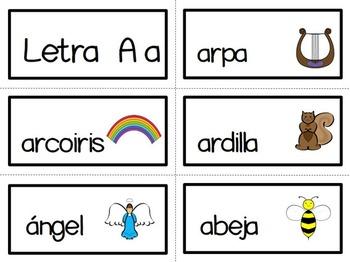 Vocales. Centros de Aprendizaje. Literacy Centers. Spanish.