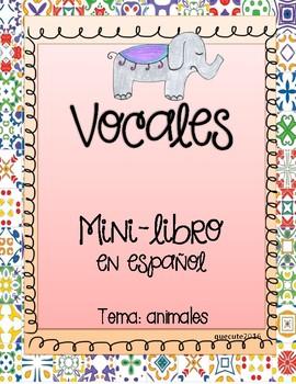 Vocales mini-libro