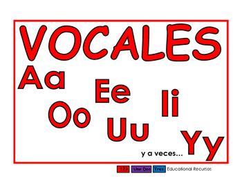 Vocales rojo