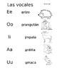 Vocales y mas