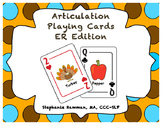 Vocalic ER Articulation Playing Cards