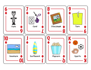 Vocalic OR Articulation Playing Cards