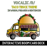 Vocalic /R/ Articulation Boom Cards: Taco Truck {R in Word