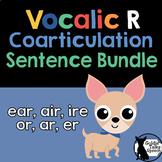 Vocalic R Sentence Bundle Coarticulation | Speech Therapy