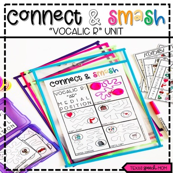 Vocalic R: Connect & Smash Speech and Language Therapy