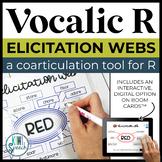 Vocalic R Elicitation Webs - Coarticulation for Vocalic R (+ digital option)
