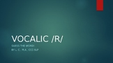 Vocalic R Guessing Game
