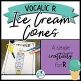 Vocalic R Ice Cream Cones: A Craftivity for the R Sound {FREEBIE}