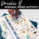 Vocalic R Minimal Pairs - A Sorting Activity