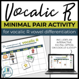Vocalic R Minimal Pairs - A Sorting Activity