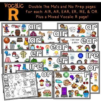 Articulation Vocalic- R: Dough N Go