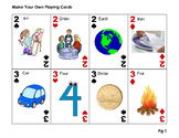 Vocalic R Playing Cards