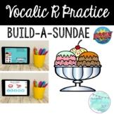 Vocalic R Practice Build-A-Sundae BOOM CARDS