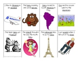 Vocalic R Sentence Flash Cards