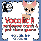 Vocalic R Sentence Game   Speech Therapy