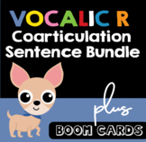 Vocalic R Sentences | Coarticulation Bundle plus Boom Cards | Speech Therapy