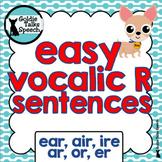 Vocalic R Sentences | Speech Therapy | Ear,Air, Ire, Ar, Or, Er