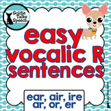 Vocalic R Sentences | Speech Therapy | Ear,Air, Ire, Ar, Or, Er