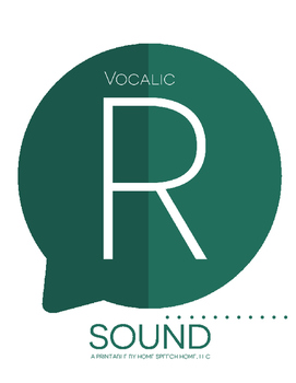 Vocalic R Sound Printable Flashcards