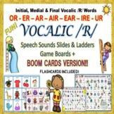 Vocalic /R/ Speech Sounds Slides & Ladders OR, ER, AIR, EAR, IRE, UR
