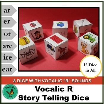 Vocalic R Story Telling Dice Speech Game