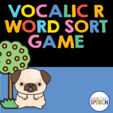 Vocalic R Word Sort Game   Speech-Language Therapy   Articulation