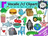 Vocalic R clipart bundle - 150 images! - R controlled vowe