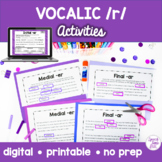 Vocalic /r/ Boom Cards™️