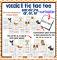 Vocalic r tic tac toe game | Speech Therapy | Ear, Air, Ire, Ar, Or, Er