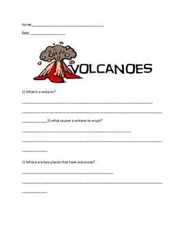 Vocanoe webquest